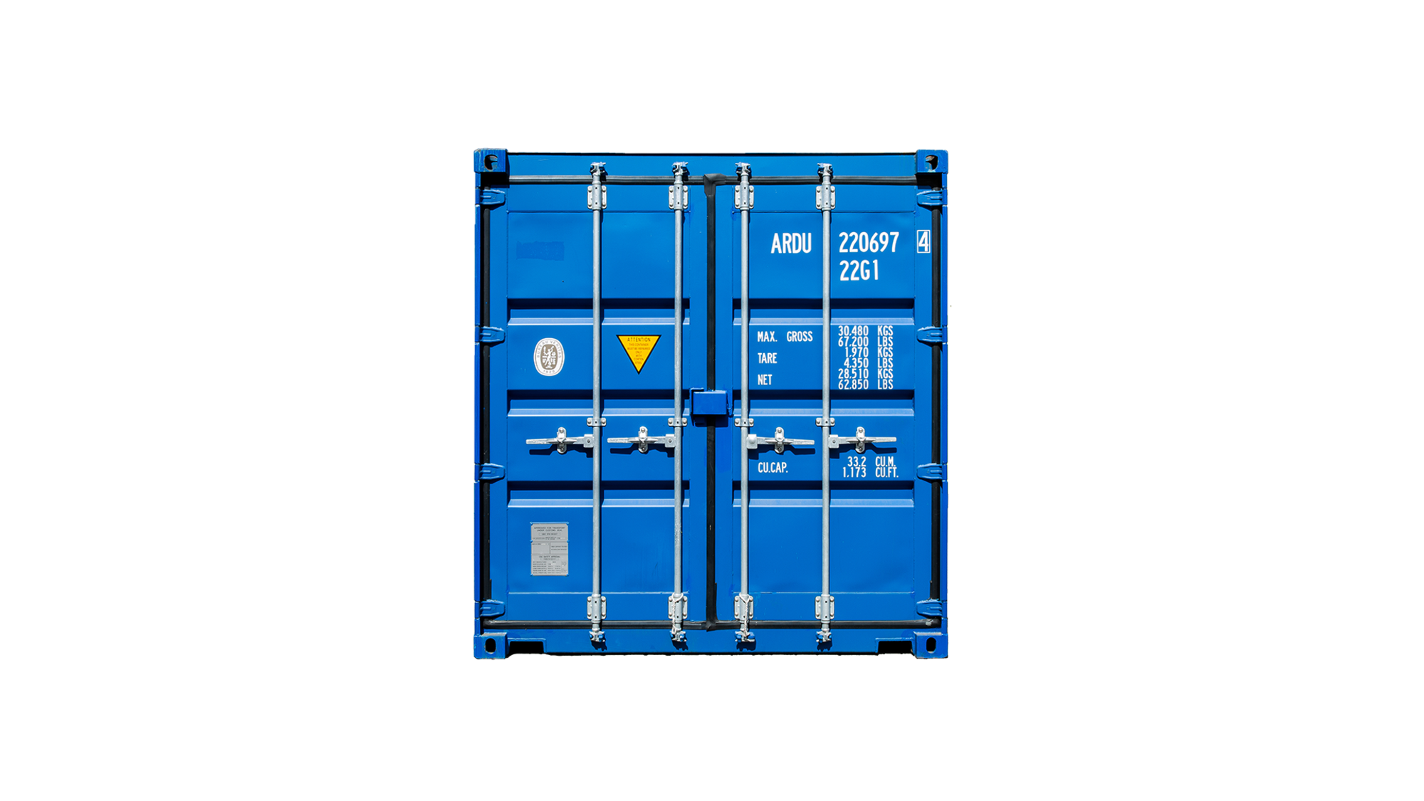20ft Standaard Container