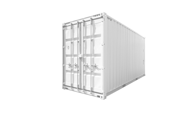 25G1 20FT High Cube white new Corner-3