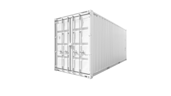 20ft High Cube Standard container