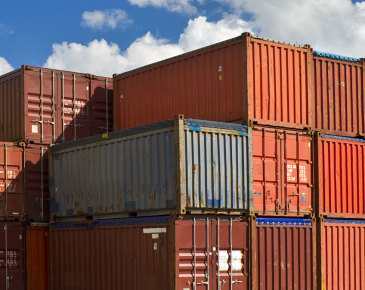 40-Foot High Cube Shipping Containers
