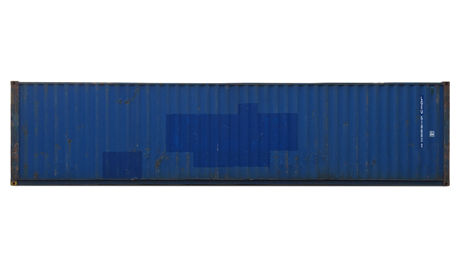 40 Fuß Standardcontainer