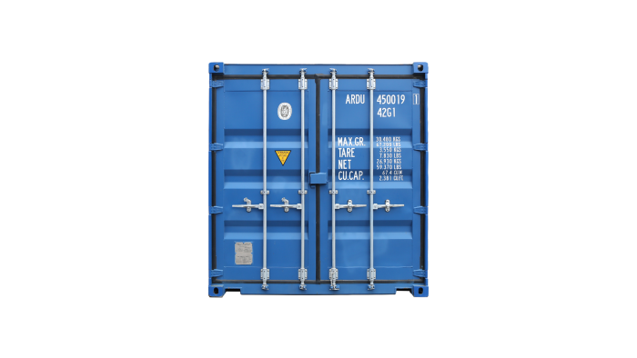 40ft Double Door container