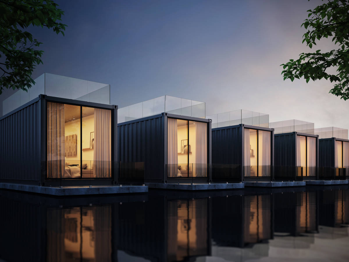 Container homes, the solution for the deficit of homes