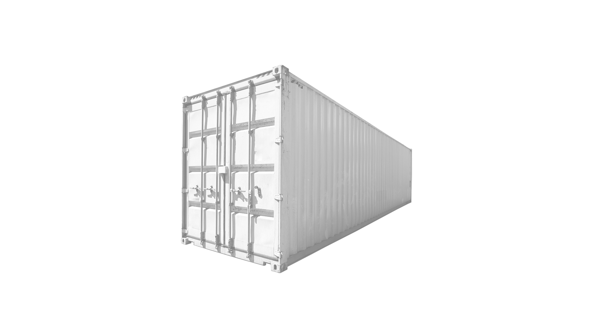 40ft High Cube Open Side container