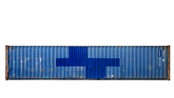 40ft Standard container