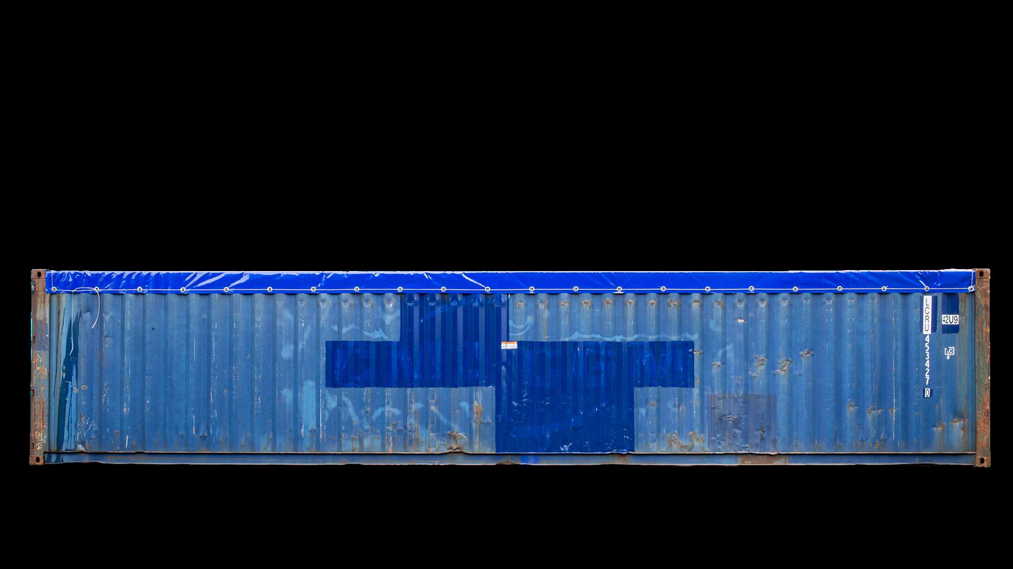40ft Open Top Original online kopen of huren | CARU Containers