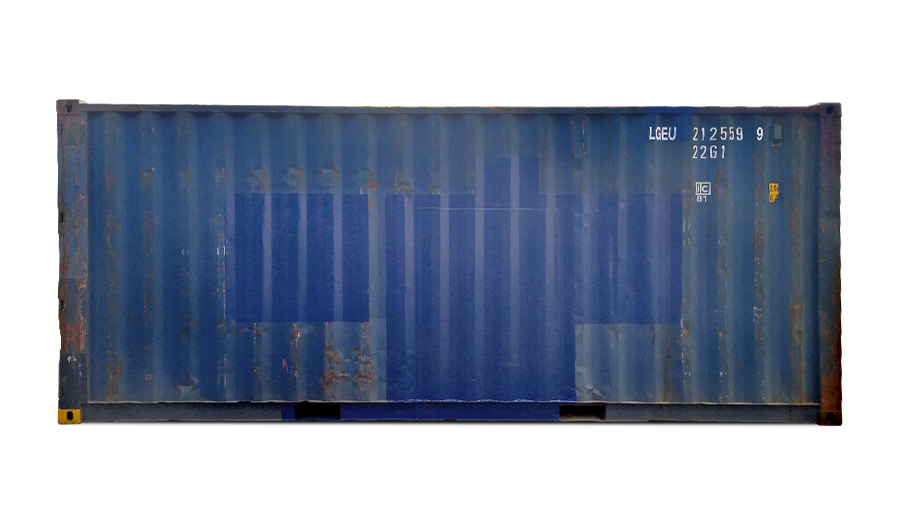 20 Fuß Standardcontainer