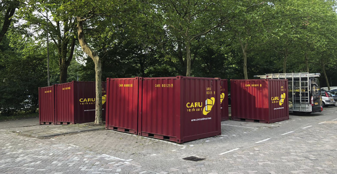 CARU containers in situaties
