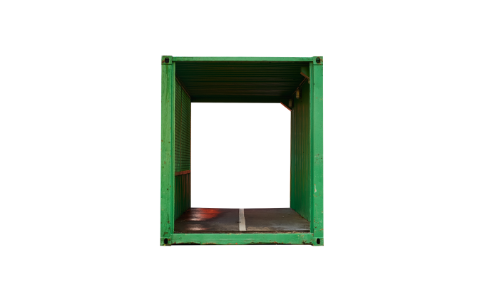 22TU 20FT Tunnel rental green front