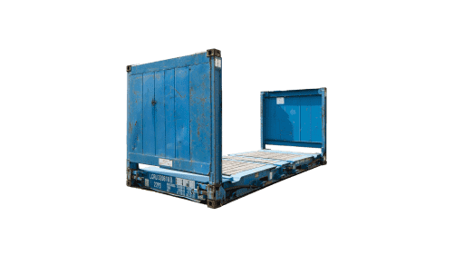 20ft Flatrack containerHuur
