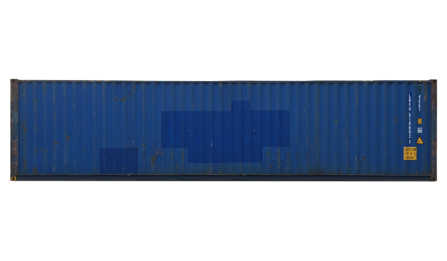 40 Fuß High Cube Standardcontainer