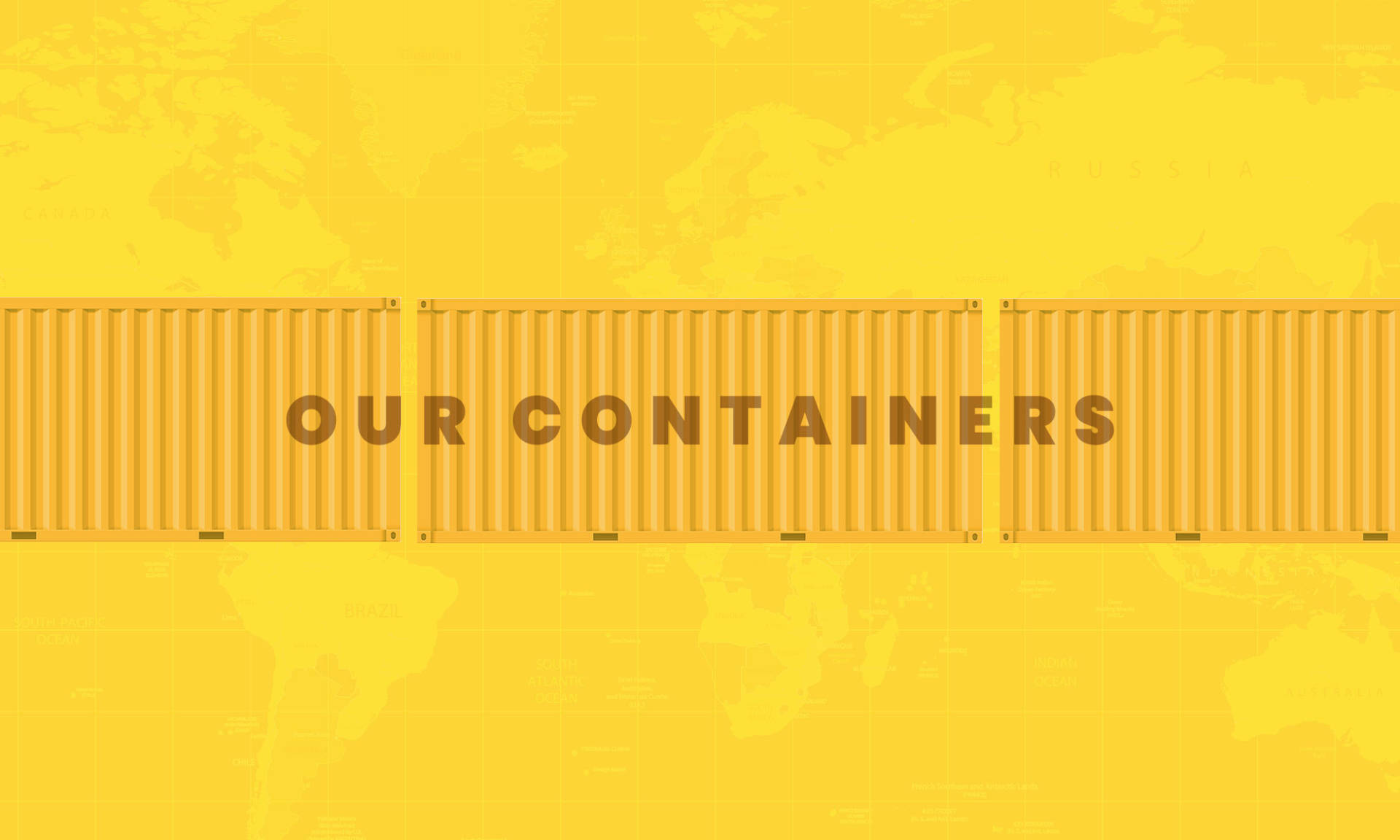About Our Shipping Containers