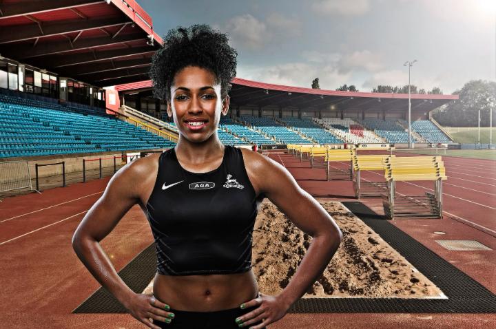 Alexander Stadium athlete professional photo