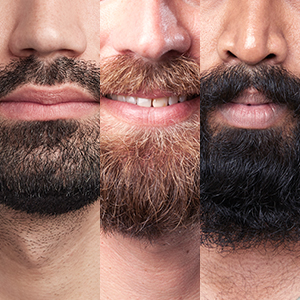 Adapts to any beard with AutoSensing Technology