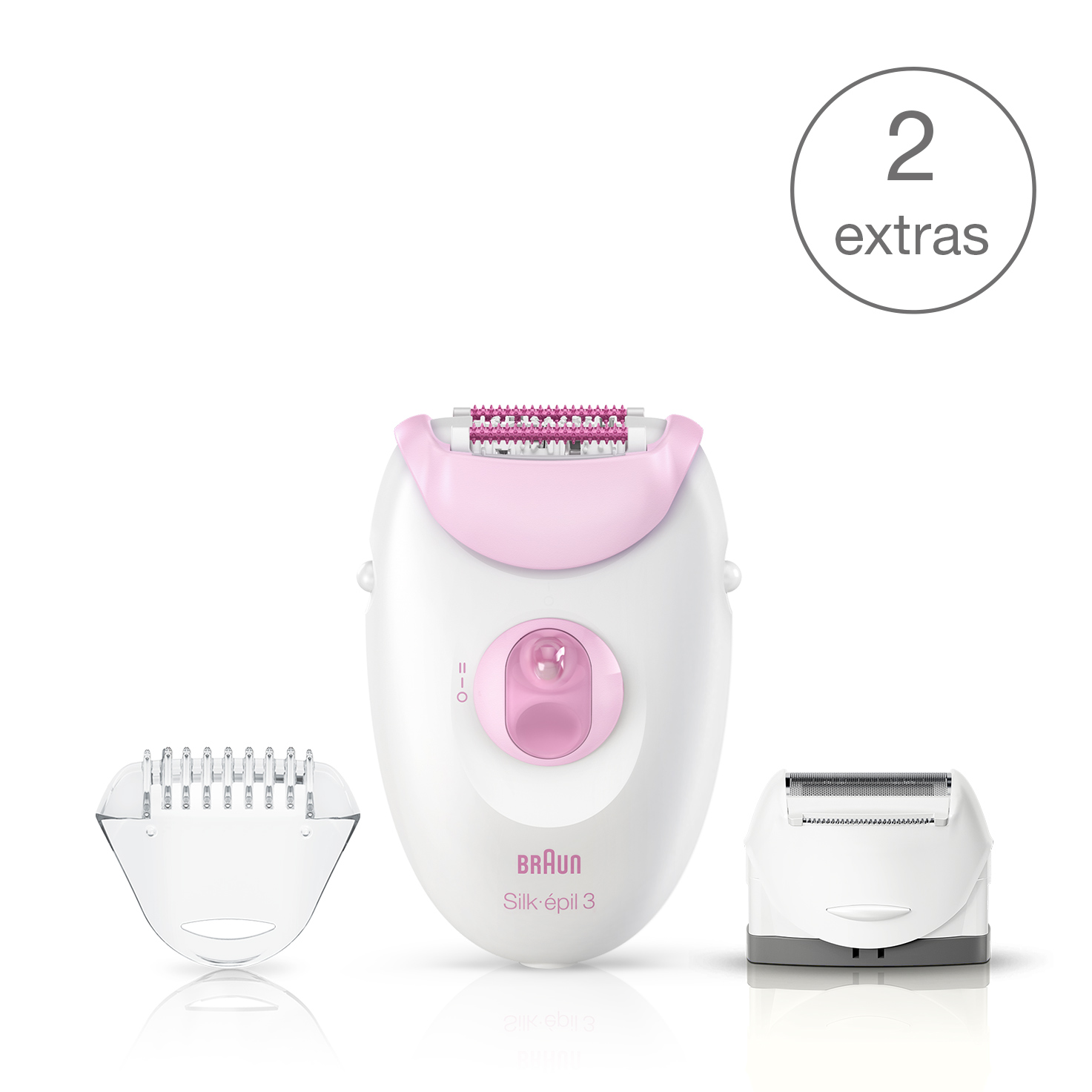 Silk-épil 3 - 3270 Leg and Body Epilator and Shaver
