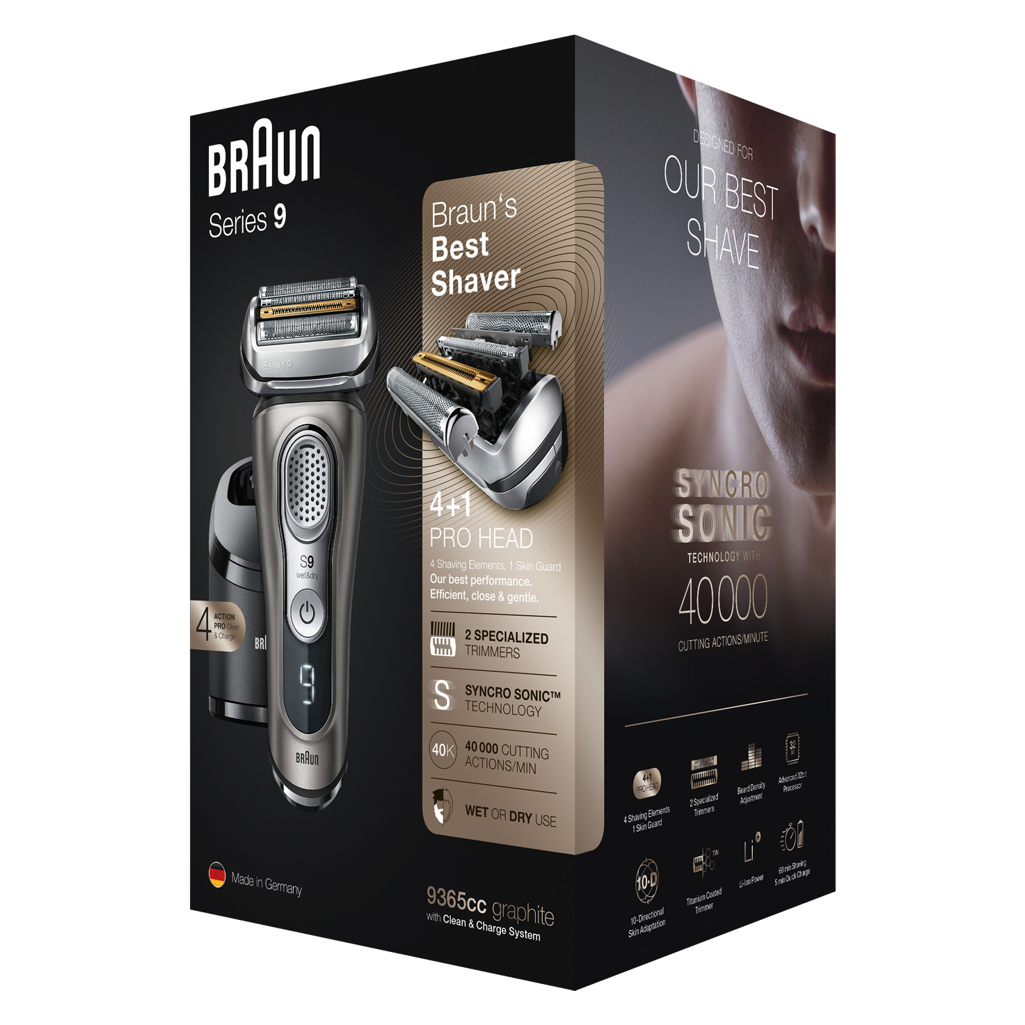 Series 9 9365cc shaver - Packaging