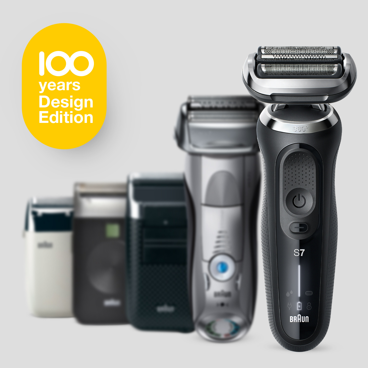 Braun Series 7 70 Electric Shaver Design Edition