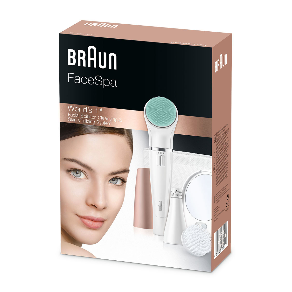 Braun FaceSpa 851V - Packaging