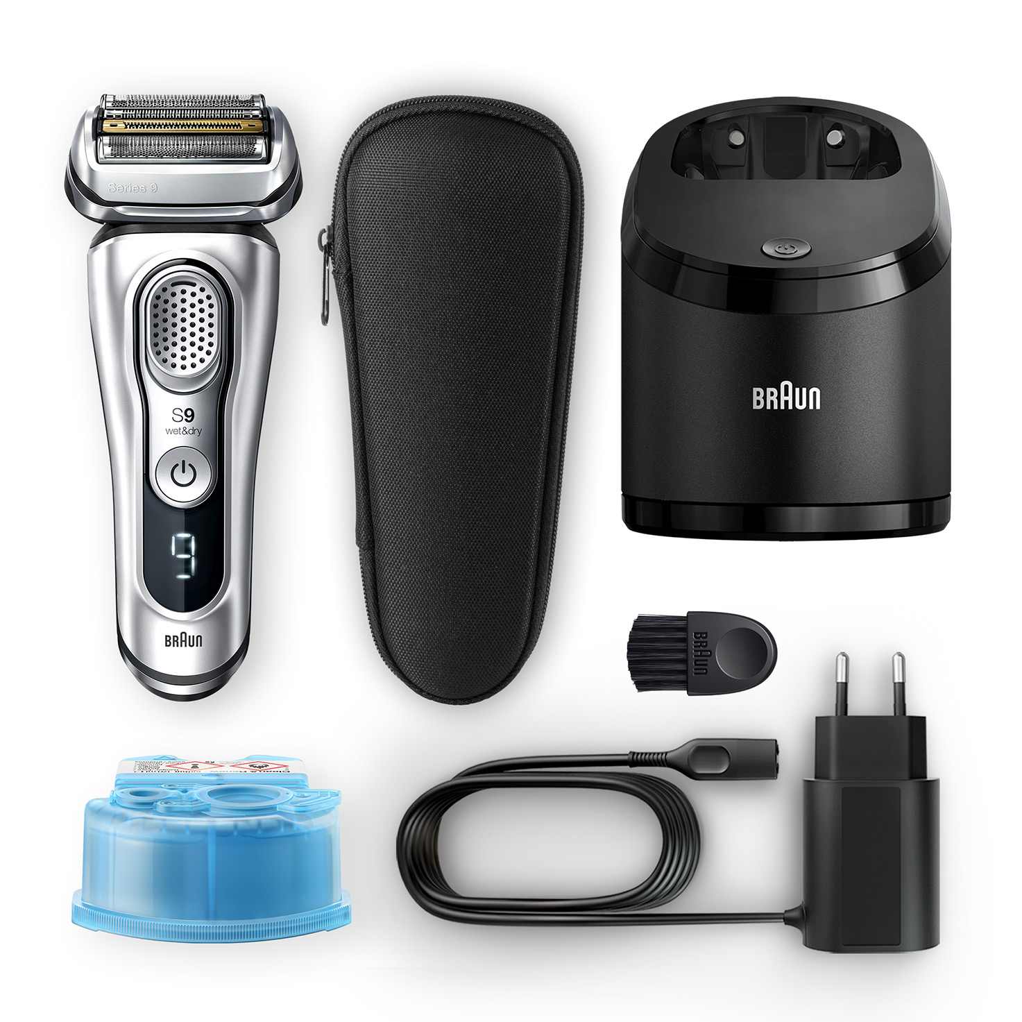 Series 9 9370cc shaver - What´s in the box
