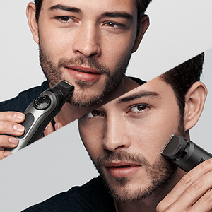 Contour edging and mini foil shaver