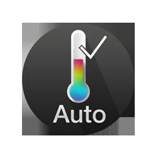 Thermo sensor for active temperature control