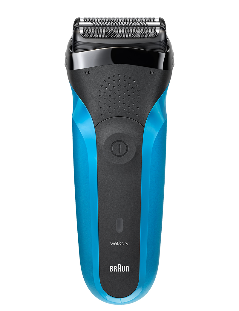 Series 3 Shaver, Black/Blue