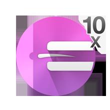 10 فتحات مجهرية تلتقط أدق الشعيرات (0.02 ملم)
