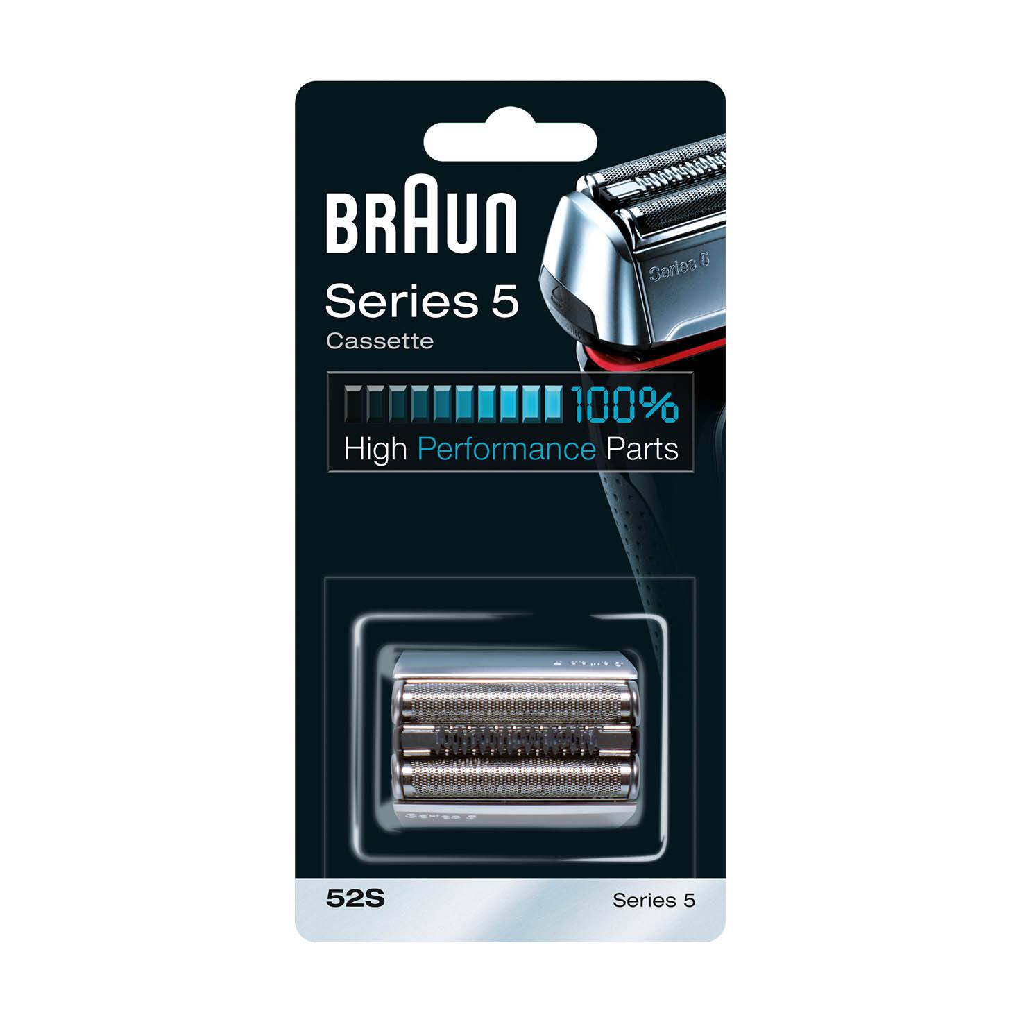Braun Series 5 Combi 52s Cassette replacement pack