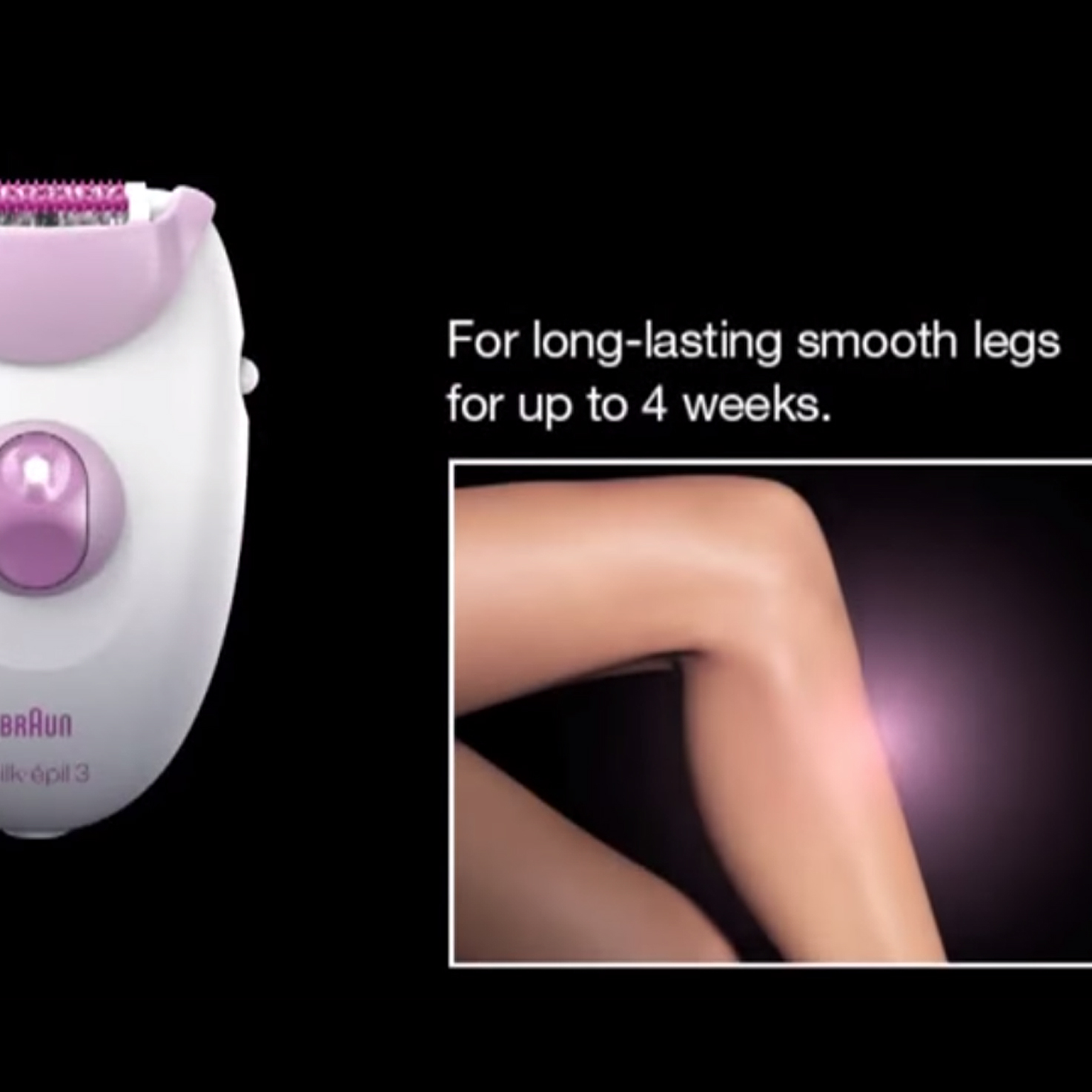 Braun-Silk-epil-3-Epilator-Product-demo-video