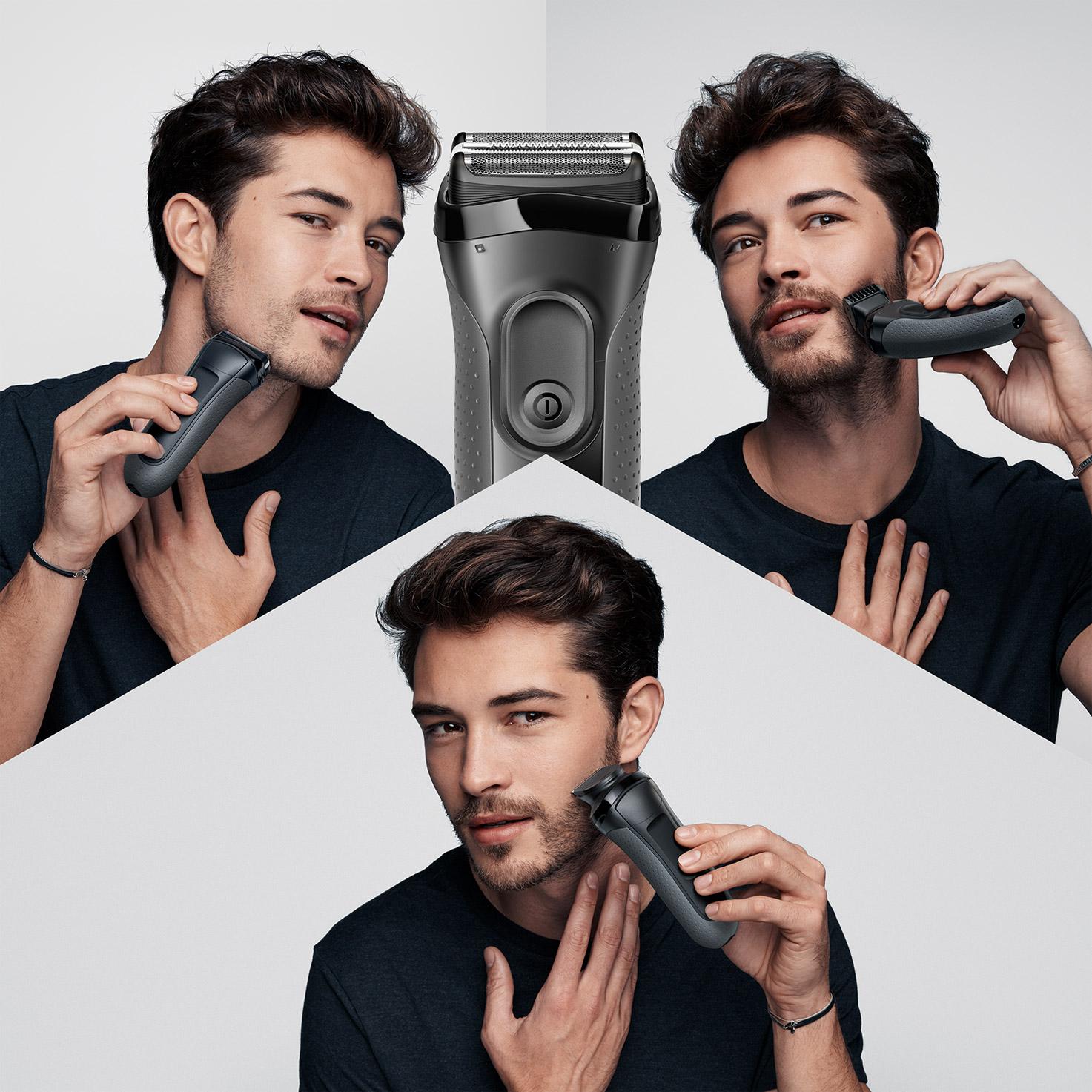 Shave. Trim. Edge.