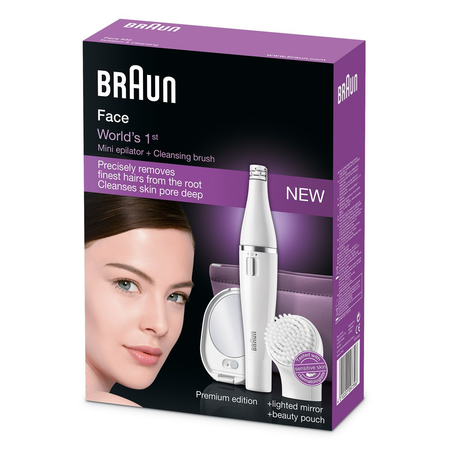 Braun Face 830 Premium Edition - packaging