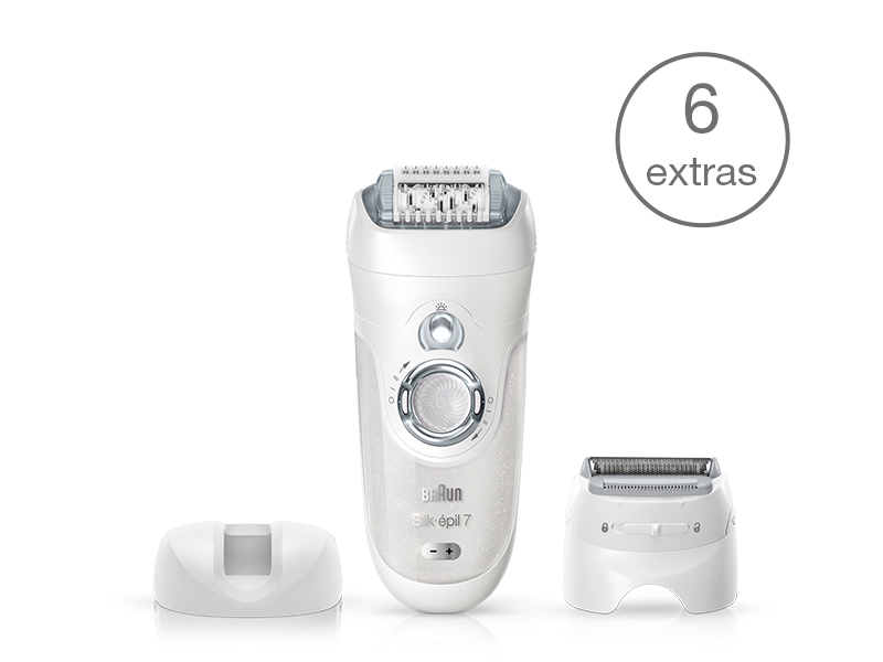 Silk-épil 7 7-561 Wet & Dry epilator