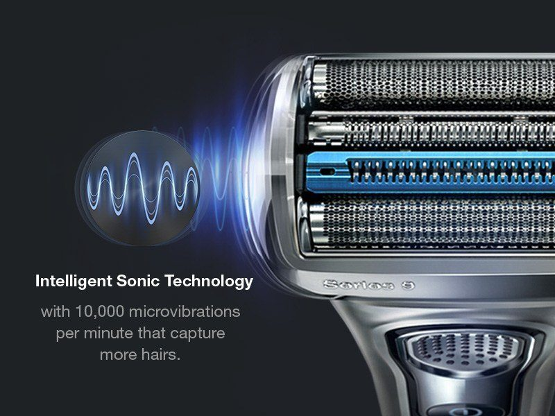 World of shaving sonic technology
