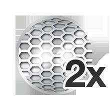 2x Opti-Foil™