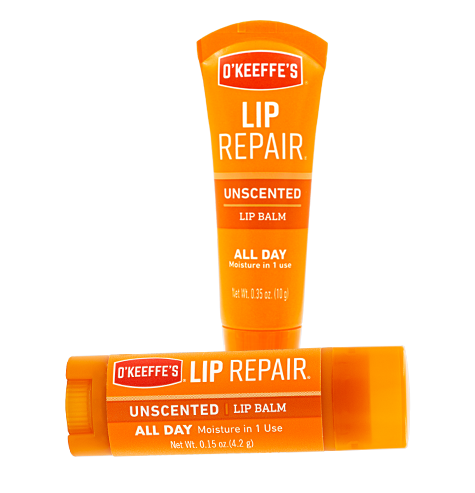 Lip Repair Unscented Stick and Tube