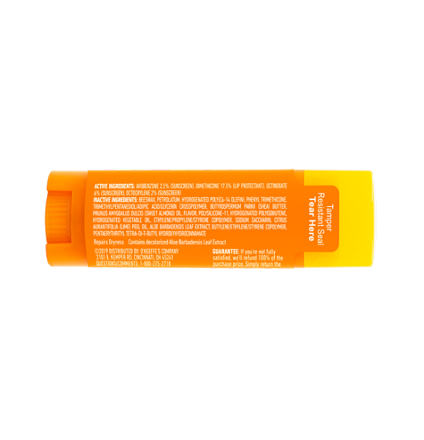 Lip Repair SPF 35 Stick - Back of Stick
