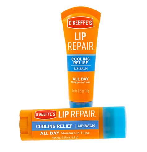 Lip Repair and Cooling Relief Stick and Tube