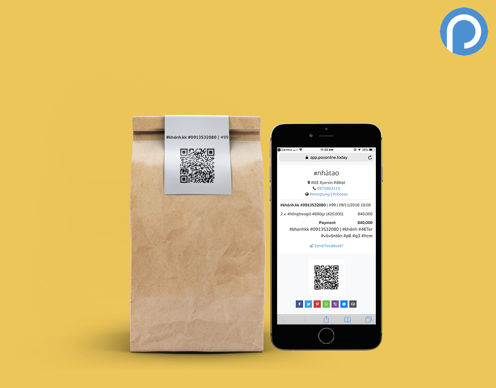 QR Code for Organic Products