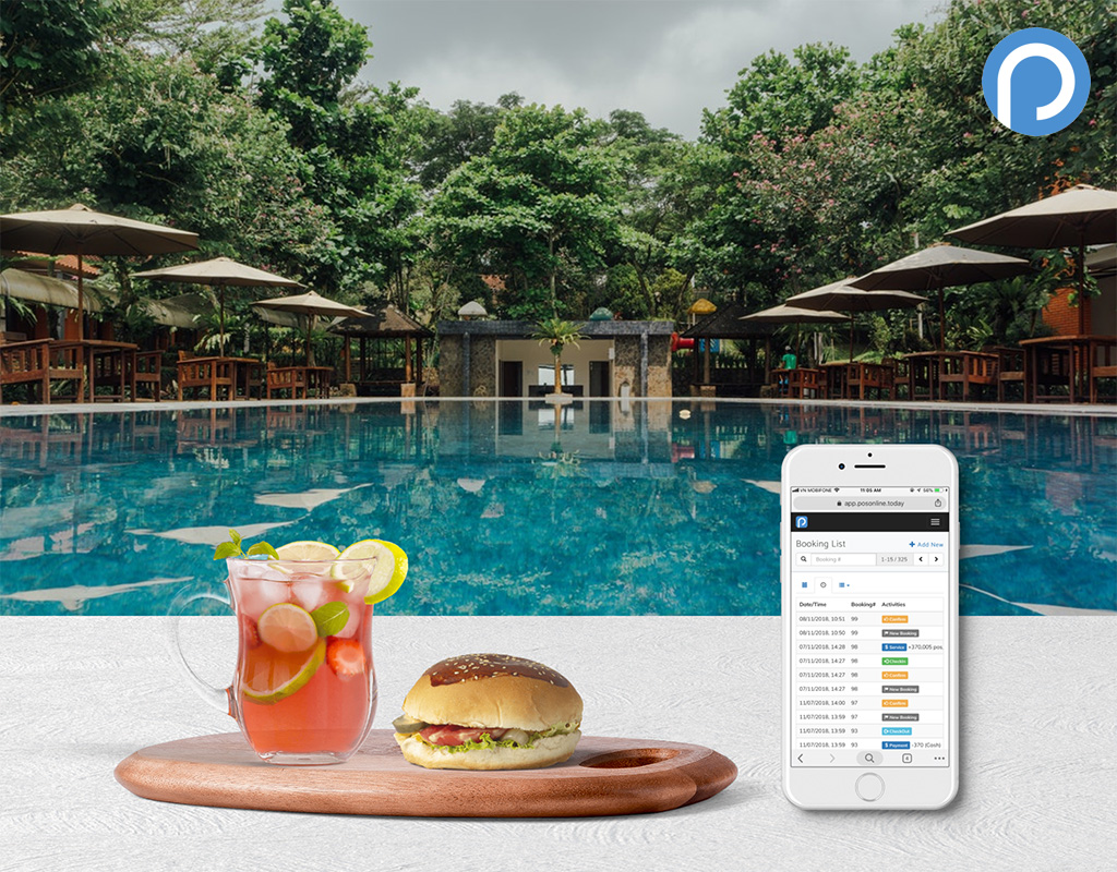 Manage Booking Statuses and Connect F&B Service Bills to Booking Rooms with POS Online
