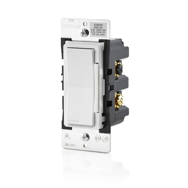 Leviton In-Wall 600W Dimmer | SmartThings