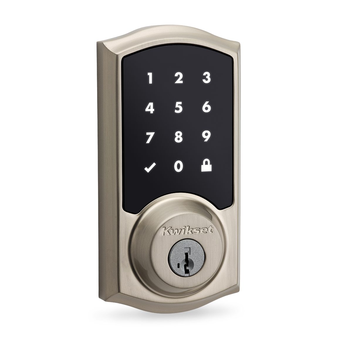 SmartThings - Kwikset SmartCode 916 Touchscreen Deadbolt Door Lock ...