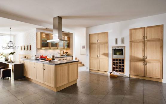 rustikale holzkche im landhausstil - Einfach Kuche Landhausstil Planung