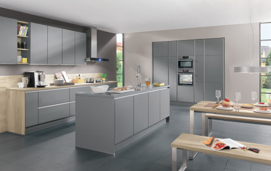 GRAUE KÜCHEN: Graue Küche vergleichen + Graue Küche planen mit ...