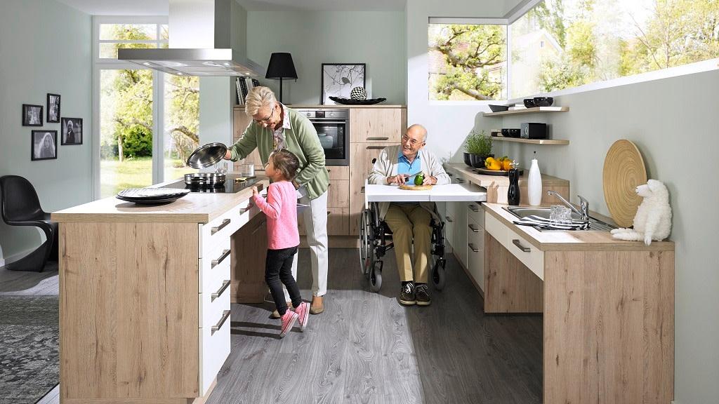 BARRIEREFREIE KÜCHEN: Behindertengerechte Küchen vergleichen ...