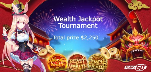 Wealth Jackpot Tournament!