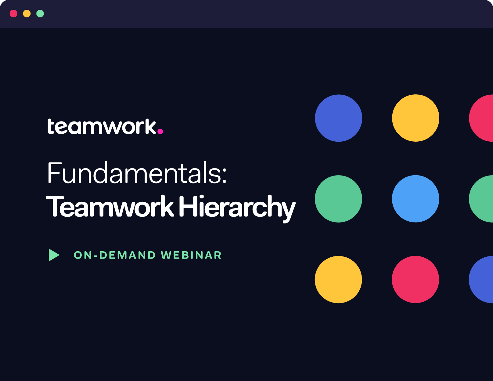 Fundamentals: Teamwork Hierarchy