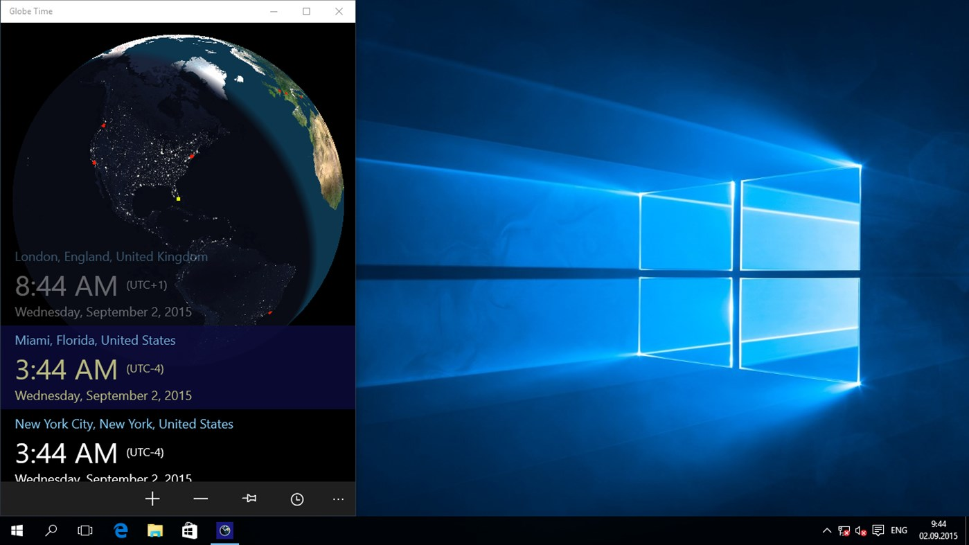 Get Globe Time Extension for Windows