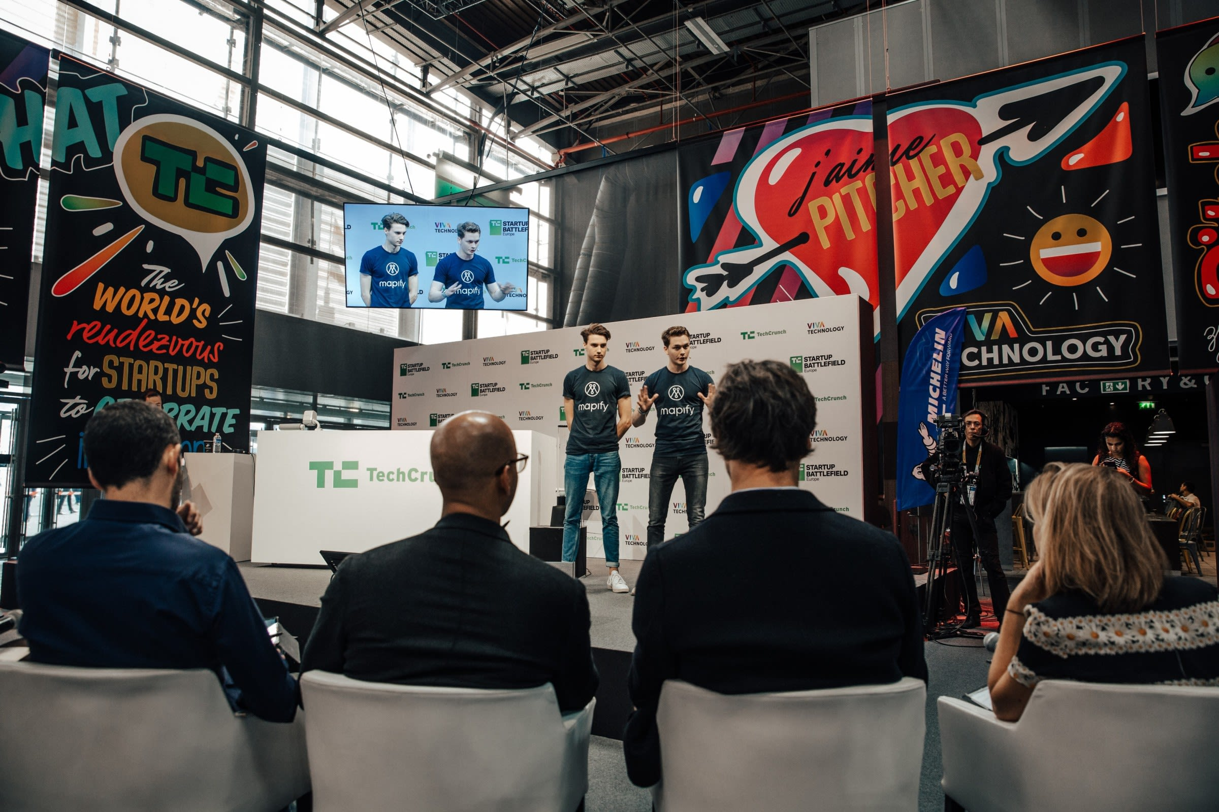 TechCrunch Disrupt Finalists in Paris 1