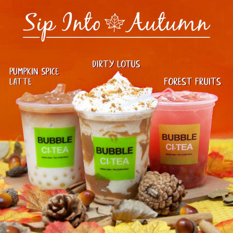 Bubble CITea - Autumn Arrivals