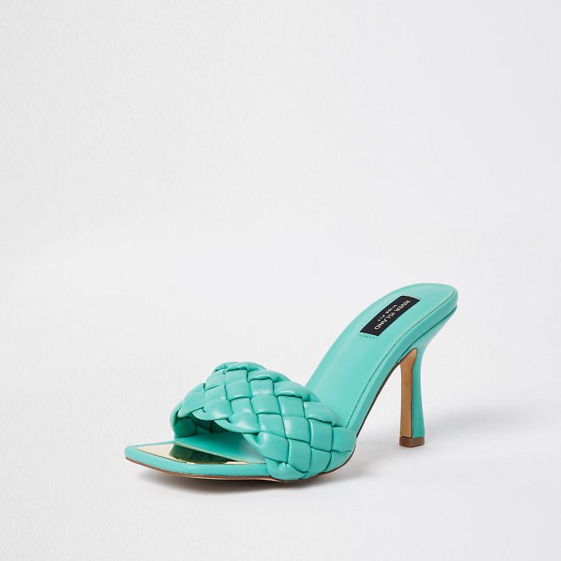 green-wide-fit-woven-mule 786548 back